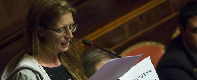 """Revoca dei vitalizi ai condannati, Bottici: """"Da Grasso finalmente un punto fermo"""""""