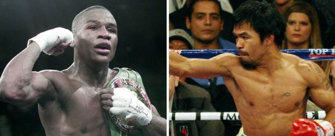 Mayweather-Pacquiao si fa: il 2 maggio a Las Vegas l'incontro del secolo nella boxe