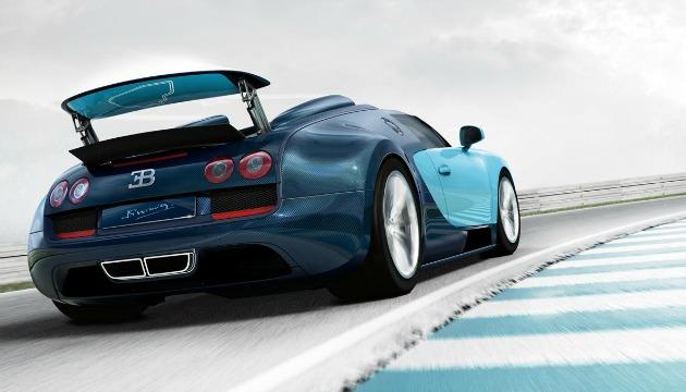 bugatti veyron rear