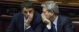 """Bankitalia, Gentiloni: """"I rapporti col Pd? Ottimi, ma decidiamo in autonomia"""". La sinistra: """"Basta chiacchiericcio, riferisca"""""""