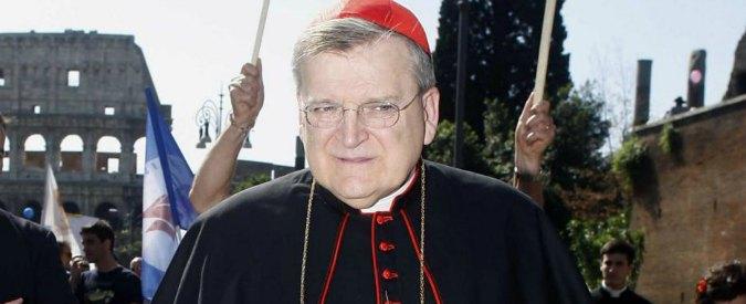 """Divorziati e risposati, cardinale Burke contro Bergoglio: """"No ad aperture"""""""