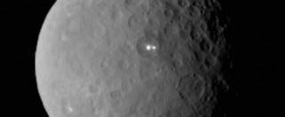 Sonda Dawn scopre due macchie luminose sul pianeta nano Cerere