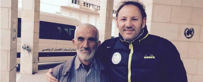 """Stefano Cusin, insegnare calcio a Hebron: """"Qui il lato umano non è un dettaglio"""""""