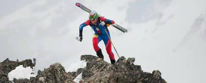 """Damiano Lenzi, lo sci alpinismo e la fatica: """"Non la amo, ma mi rende felice"""""""