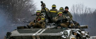 """Ucraina, filorussi: """"Combattiamo a Debaltseve. Non è negli accordi di Minsk"""""""