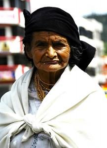 donna indigena ecuador