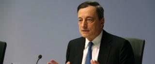 """Draghi: """"Forze concorrono a tenere bassa l'inflazione, ma la Bce non si arrenderà"""""""