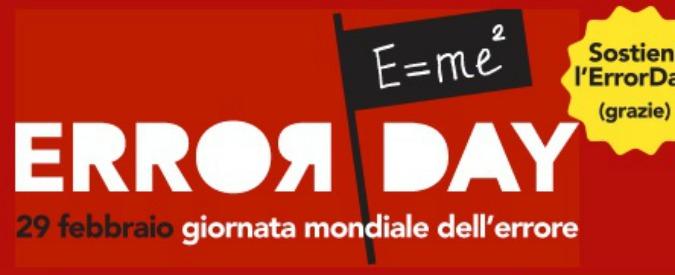 Bologna, la fiera Error Day: sbagliare è umano (e a volte rivoluziona il mondo)