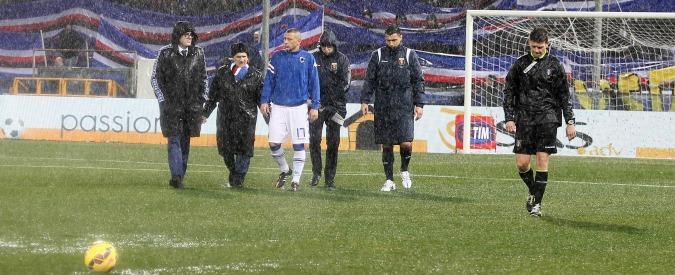 Sampdoria-Genoa, rinvio e polemiche: il Ferraris è un disastro (anche economico)