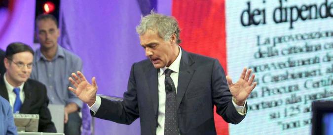 """Giletti contro Capanna, interrogazione in Vigilanza Rai: """"Inaccettabile"""""""