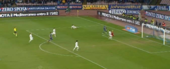 Napoli – Inter 1-0, Benitez in semifinale di Coppa Italia. Guarda i gol