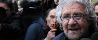 """M5S, Grillo: """"Potrebbe arrivare 1 milione di persone: sarà stato di guerra"""""""