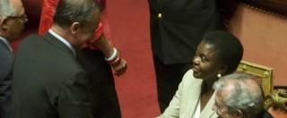 """Definì """"orango"""" la ministra Cecile Kyenge per la Consulta Calderoli """"non può godere dell'insindacabilità sugli insulti"""""""