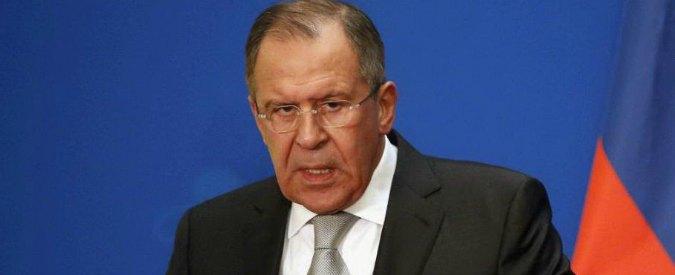 "Ucraina, Lavrov: ""Se Kiev viene rifornita di armi conseguenze imprevedibili"""