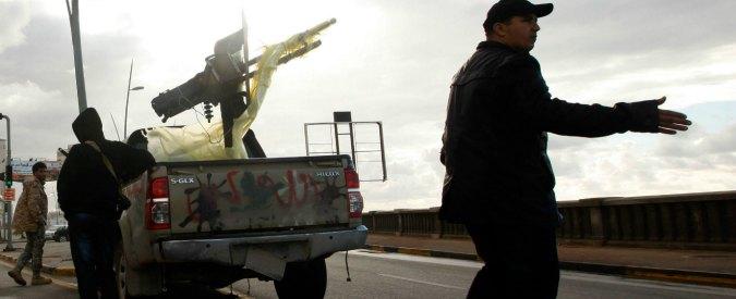 Libia, quando la nostra politica estera genera mostri