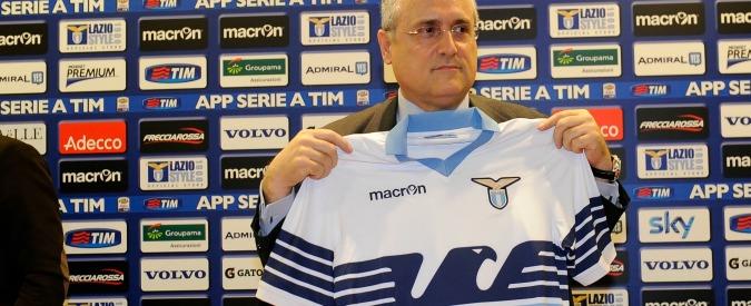 Lotito, promesse da marinaio sul calcio femminile: la Lazio rosa come il Parma