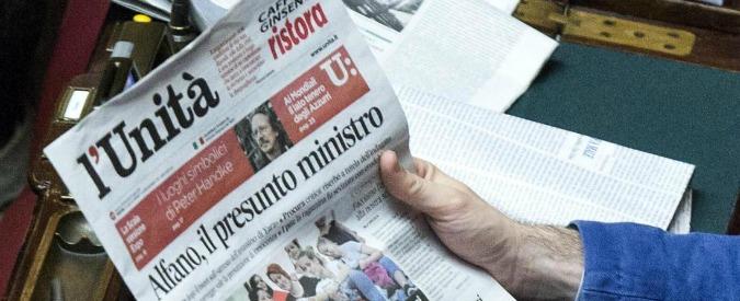 L'Unità, Veneziani salva giornale di Gramsci. E non paga stipendi agli operai