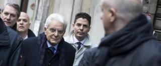 """Mattarella ringrazia Ciampi e Napolitano. All'ex governatore: """"Capisci preoccupazioni"""""""