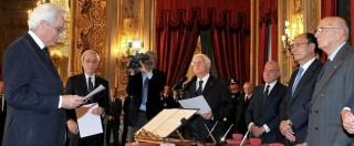 """Sergio Mattarella, Napolitano: """"Gli passerò dossier su riforme, grazia e Csm"""""""