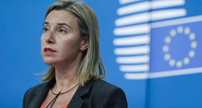 Ucraina, Mogherini: se ci sei, batti un colpo