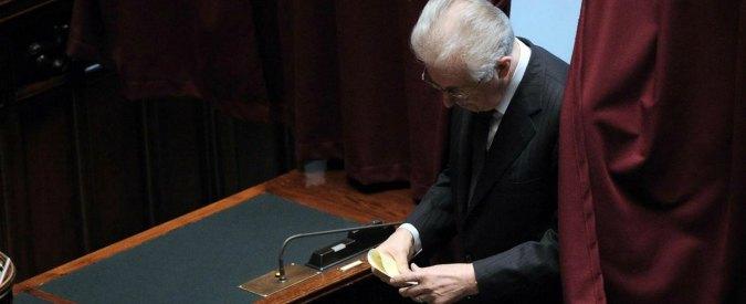 Governo, i senatori di Scelta Civica passano nel Pd. Tranne Mario Monti