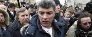 """Nemtsov, l'intervista: 'Mia madre diceva: 'Smetti di criticare Putin, ti ucciderà"""""""