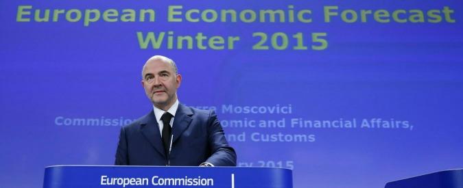 """Commissione Ue vede deficit dell'Italia in calo. """"Ma debito resta primo problema"""""""