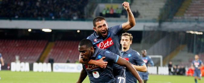 Cagliari-Inter 1-2 e Napoli-Sassuolo 2-0: ora la Roma ha paura