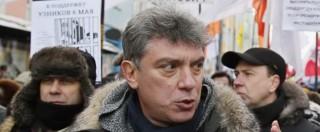 """Boris Nemtsov, Cremlino: """"Non era una minaccia alla popolarità di Putin"""""""
