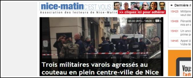 Francia, accoltellati tre militari davanti a centro ebraico: due fermati