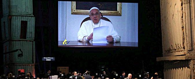 """Expo, il videomessaggio del Papa: """"Terra chiede rispetto, non arroganza padroni"""""""