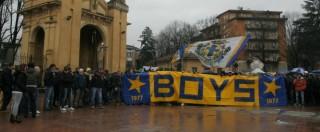 Parma nel caos, la protesta dei tifosi contro Ghirardi e i vertici del calcio
