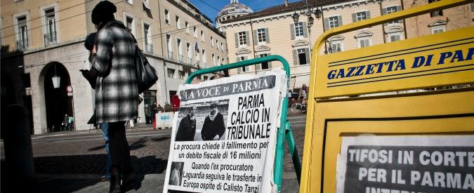Parma Calcio, altre grane: procura apre un fascicolo per bancarotta fraudolenta