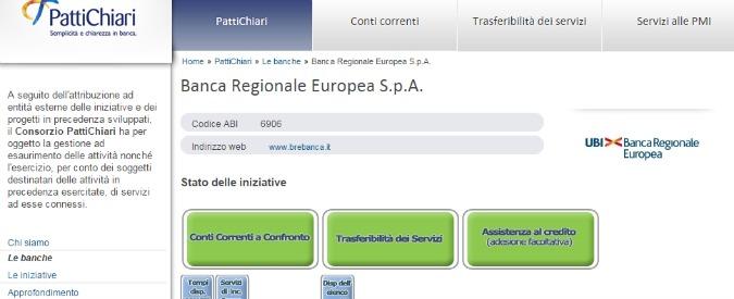 Banche, consorzio Patti Chiari condannato a risarcire 80mila euro a risparmiatore