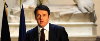 """Norma salva Berlusconi, Renzi: """"Il 3%? Salveremo chi è in buona fede"""""""
