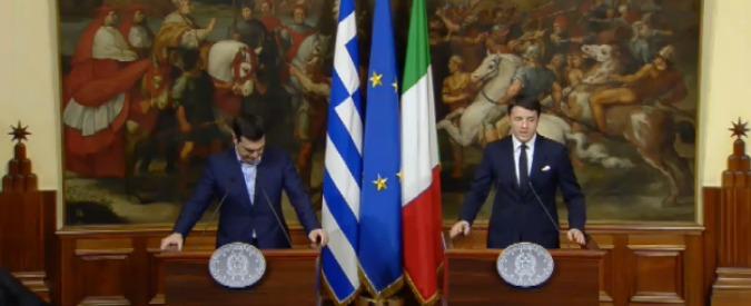 Italia-Grecia, conferenza stampa di Matteo Renzi e Alexis Tsipras. Guarda la diretta