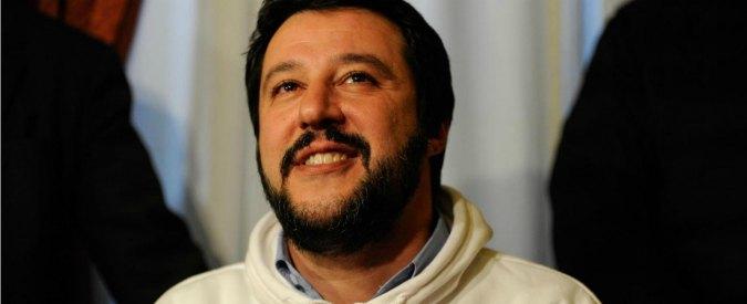 Matteo Salvini a Roma, perché è un uomo d'onore