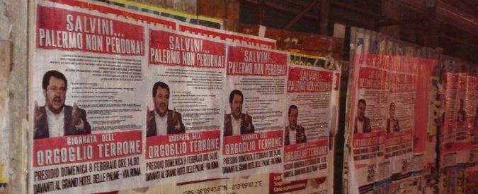 """Salvini sbarca a Palermo. Ma in città scatta la """"Giornata dell'orgoglio terrone"""""""