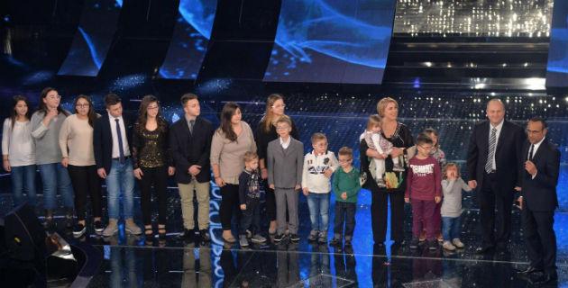 Sanremo 2015 e la numerosa famiglia Anania? Basta crederci