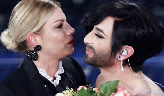 Sanremo 2015 giorno tre, metti la donna barbuta in soffitta
