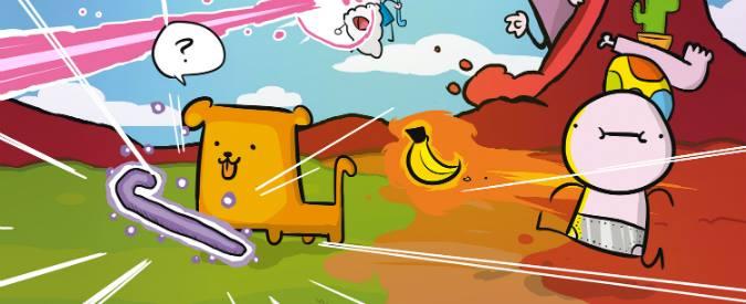 Super cane magic zero, ecco il videogame del fumettista Simone Albrigi in arte Sio