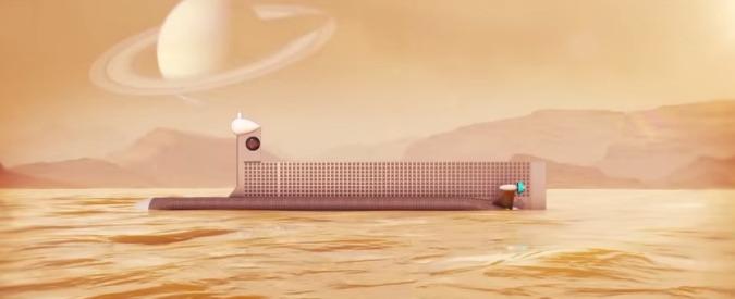 """Nasa progetta invio sottomarino su Titano: """"Cercheremo tracce di vita aliena"""""""