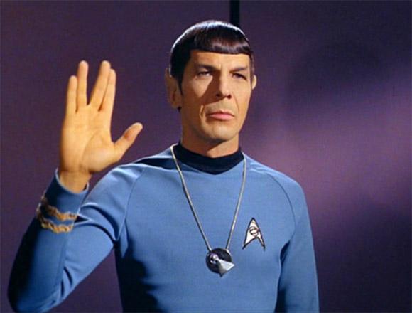 Lo Spock di Star Trek