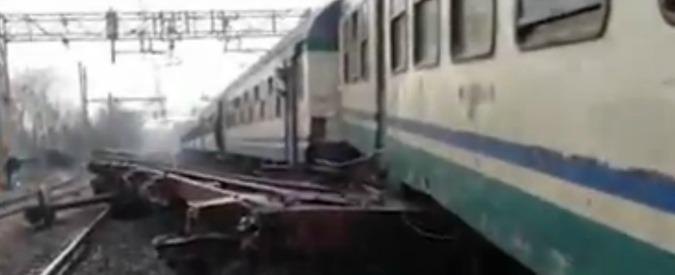 Reggio Emilia, scontro tra treni sulla Parma-Bologna: 5 contusi a Rubiera