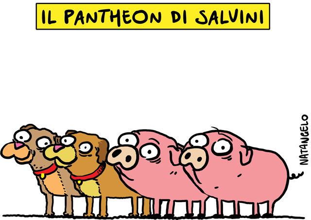 Il pantheon di Salvini