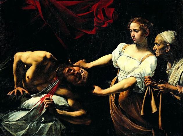 Giuditta-Oloferne-Caravaggio
