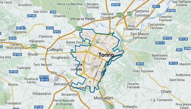 Area Car2go Torino