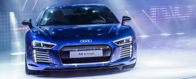 Audi punta sull'elettrico. R8, Q7 e-tron e una futura Suv a batterie per sfidare Tesla