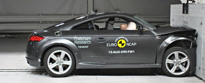 Crash test EuroNCAP sempre più severi: prima vittima l'Audi TT con sole 4 stelle