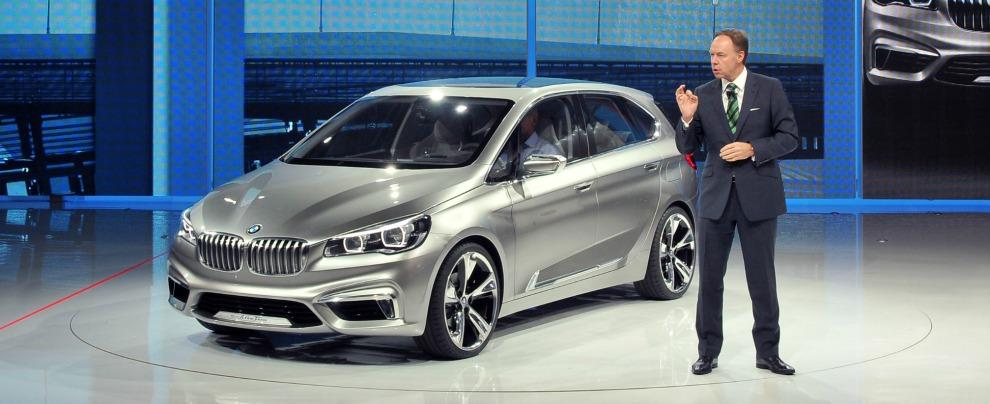 BMW Ian Robertson Paris 2012